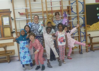 Pyjama Day Success!