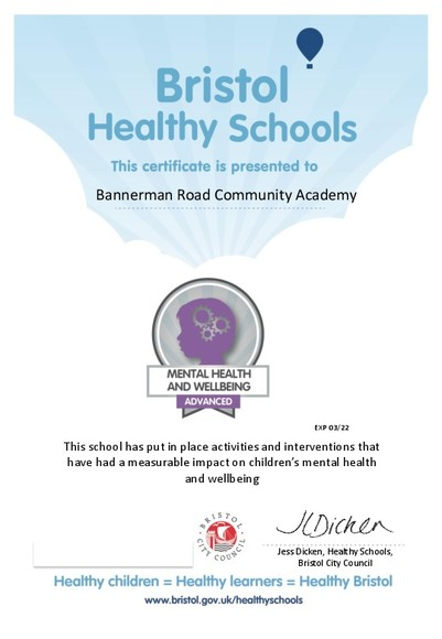 Bannerman MH advanced badge March 2019 Certificate